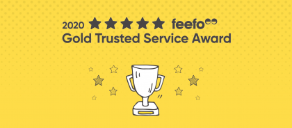ZenHotels Receives Feefo Gold Trusted Service Award 2020